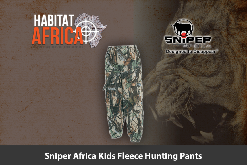 Sniper Africa Kids Fleece Hunting Pants