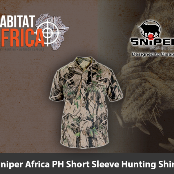 Sniper Africa PH Short Sleeve Hunting Shirt