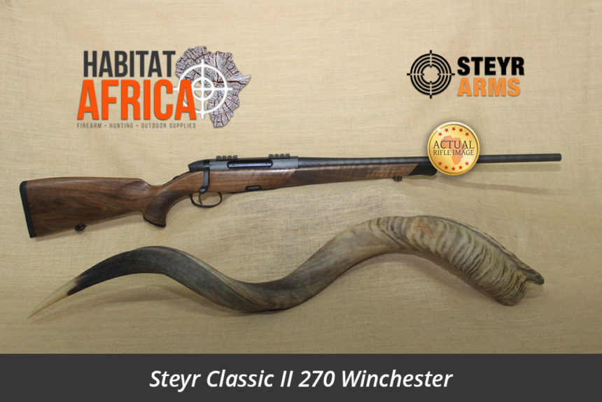 Steyr Classic II 270 Winchester Hunting Rifle