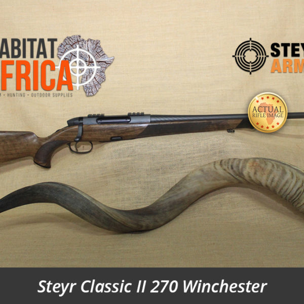 Steyr Classic II 270 Winchester Actual Rifle