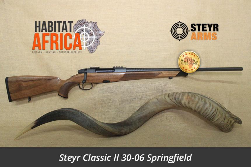 Steyr Classic II 30-06 Springfield Hunting Rifle