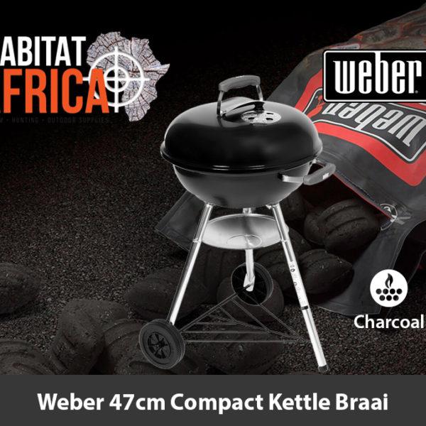 Weber 47cm Compact Kettle Braai