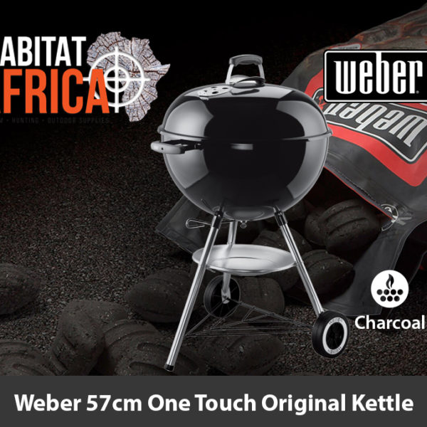Weber 57cm One Touch Original Kettle Charcoal Braai