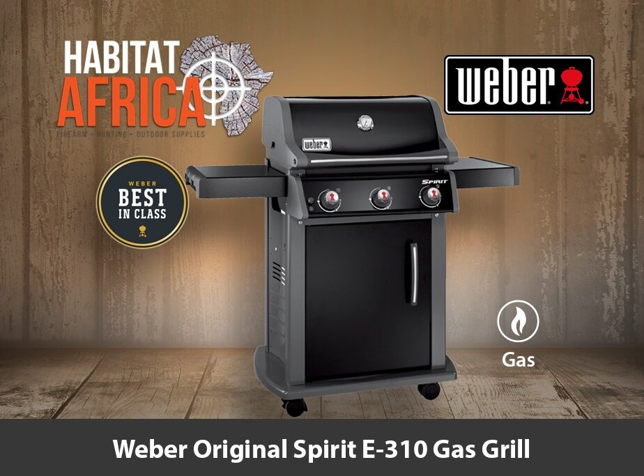 weber original spirit e 310 gas grill habitat africa. Black Bedroom Furniture Sets. Home Design Ideas