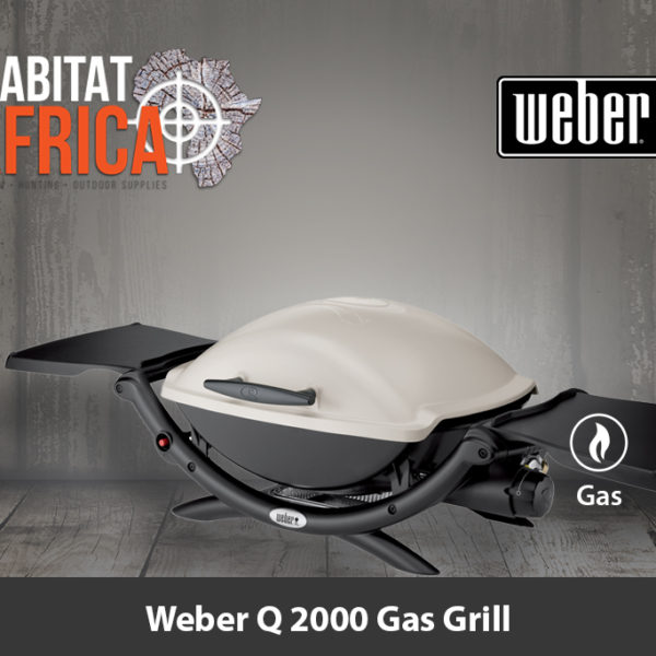Weber Q 2000 Portable Gas Grill