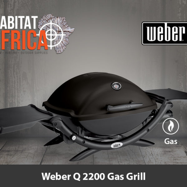 Weber Q 2200 Portable Gas Grill - Black