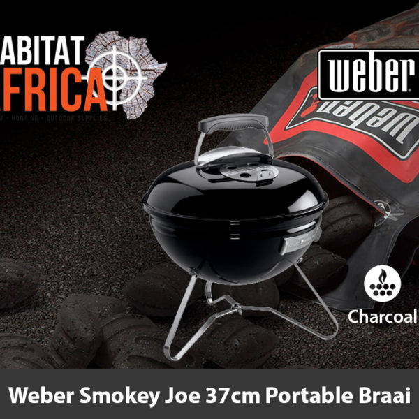 Weber Smokey Joe 37cm Portable Charcoal Braai
