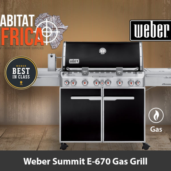 Weber Summit E-670 Gas Grill - Best in Class