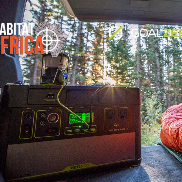 Camping with the Goal Zero Yeti 1000 Lithium Solar Generator