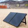 Goal Zero Boulder 100 Briefcase Solar Panel Powered by the Sun