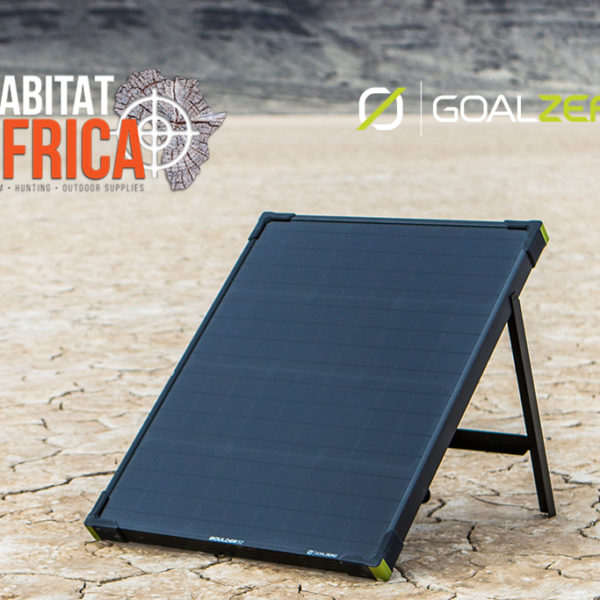 Goal Zero Boulder 50 Solar Panel Powered by the Sun