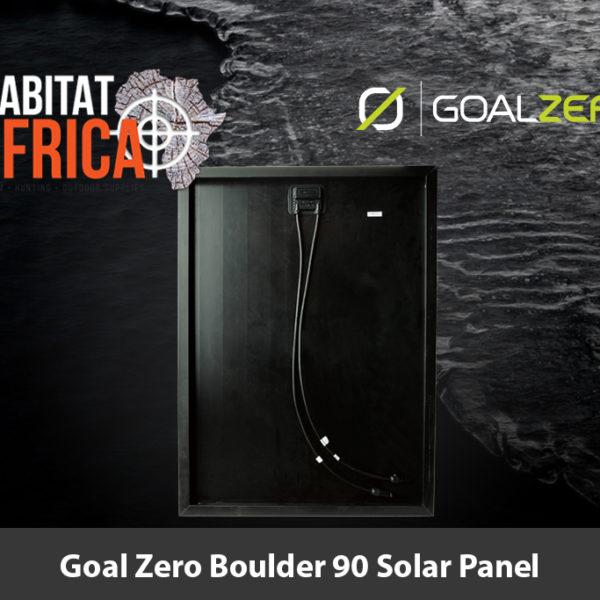 Goal Zero Boulder 90 Solar Panel Fittings - Habitat Africa | Outdoor Supplies | South Africa
