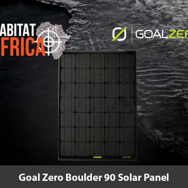 Goal Zero Boulder 90 Solar Panel - Habitat Africa | Outdoor Supplies | South Africa