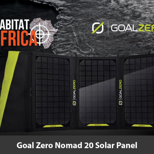 Goal Zero Nomad 20 Solar PanelGoal Zero Nomad 20 Solar Panel