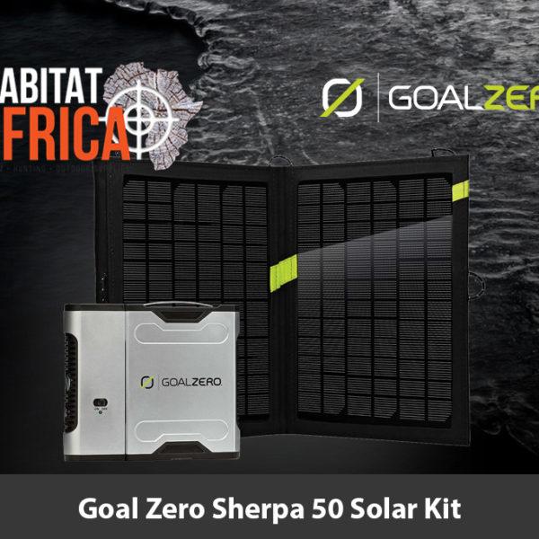 Goal Zero Sherpa 50 Solar Kit