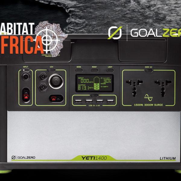 Goal Zero Yeti 1400 Lithium Solar Generator Display Panel