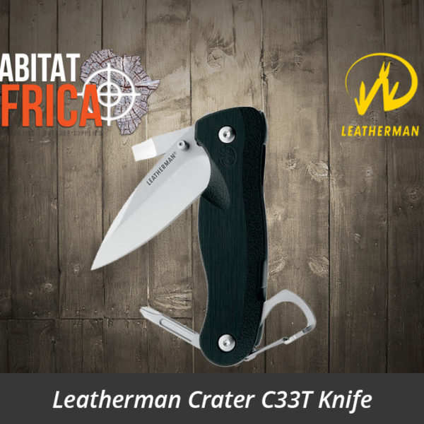 Leatherman Crater C33T Knife