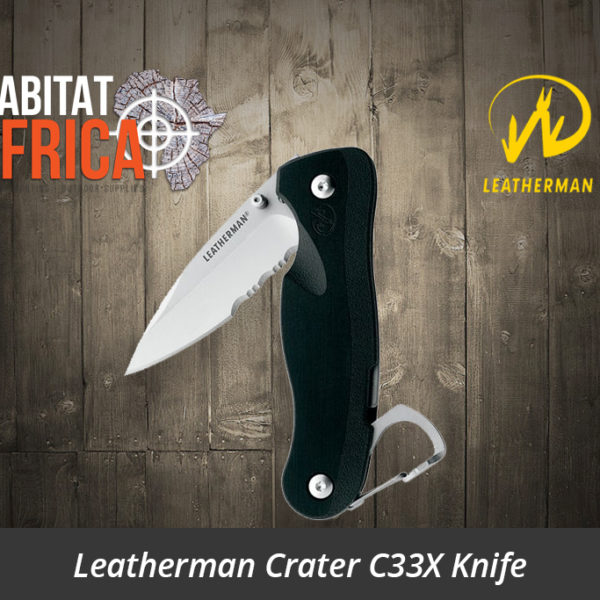 Leatherman Crater C33X Knife
