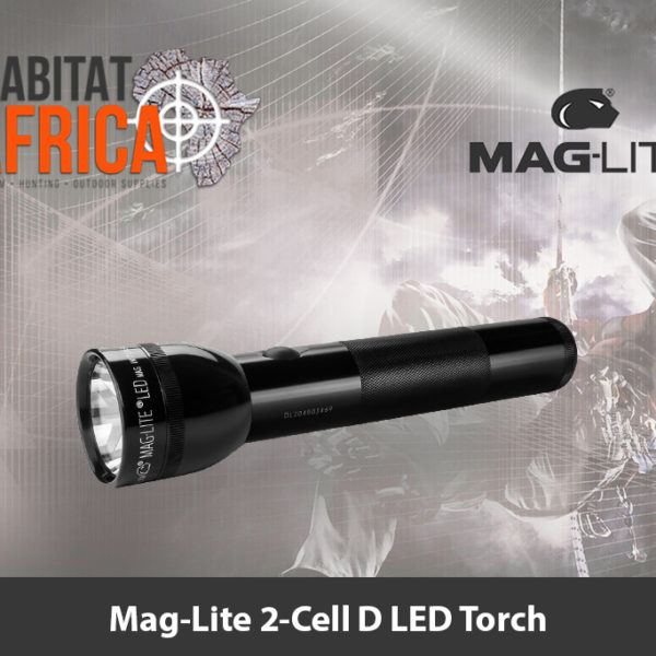 Mag-Lite 2-Cell D LED Torch
