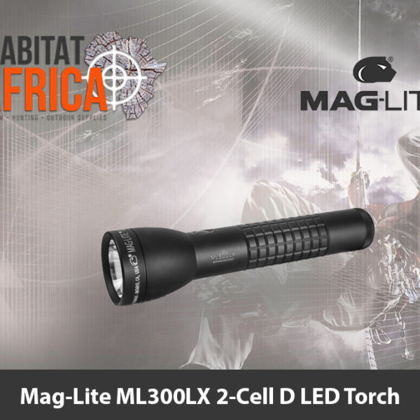 Mag-Lite ML300LX 2-Cell D LED Torch