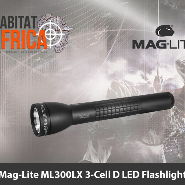 Mag-Lite ML300LX 3-Cell D LED Flashlight