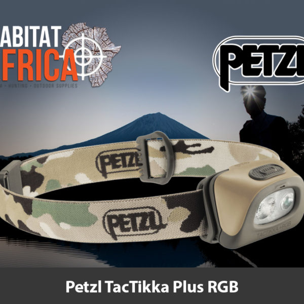 Petzl TacTikka Plus RGB Camo Headlamp