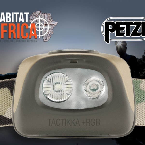 Petzl TacTikka Plus RGB Camo Headlamp Front