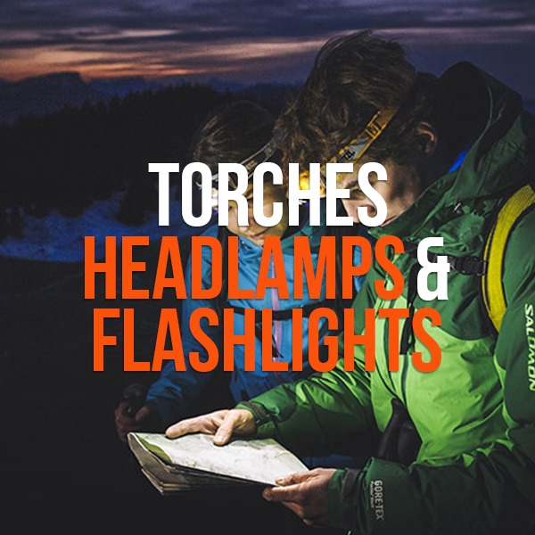 Torches, Headlamps & LED Flashlights