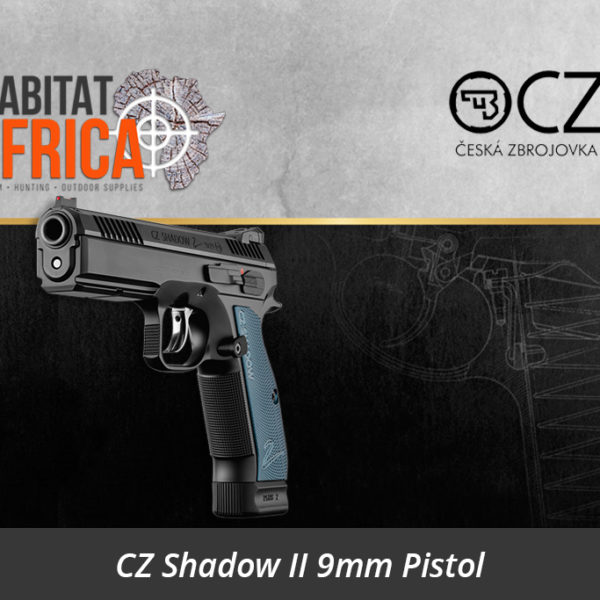 CZ Shadow 2 Pistol - Habitat Africa | Gun Shop | South Africa