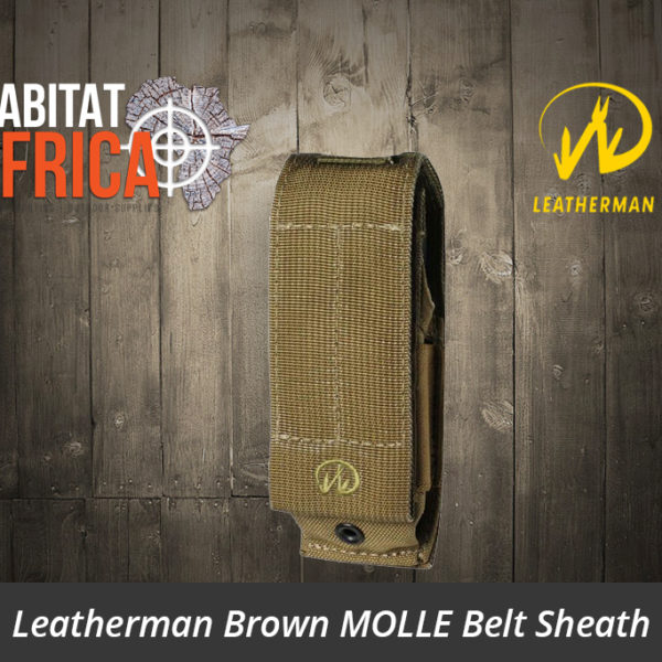 Leatherman Brown MOLLE Belt Sheath
