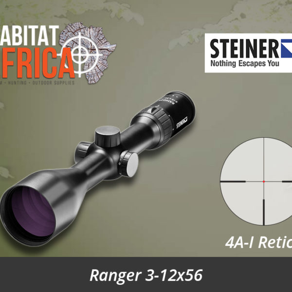 Steiner Ranger 3-12x56 Riflescope with 4AI Reticle