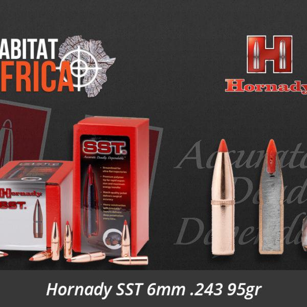Hornady SST 6mm .243 95gr Bullets
