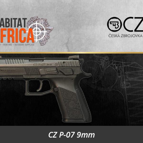 CZ P-07 Gen 2 9mm Pistol