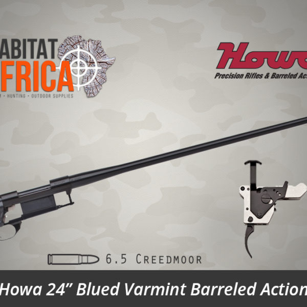 Howa 24 inch Blued Varmint 6.5 Creedmoor Barreled Action - Habitat Africa | Gun Shop | South Africa