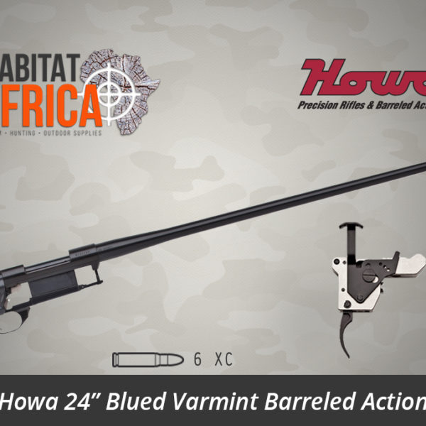 Howa 24 inch Blued Varmint 6 XC Barreled Action - Habitat Africa | Gun Shop | South Africa
