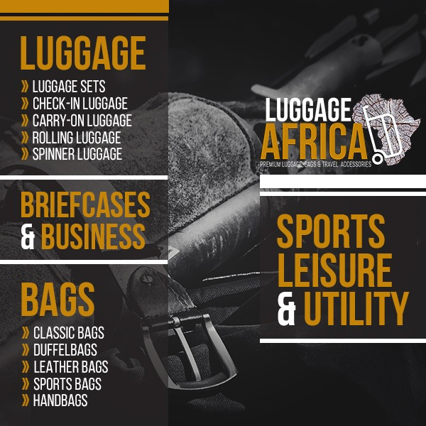 Luggage Africa - South Africa's Premier Online Luggage Shop
