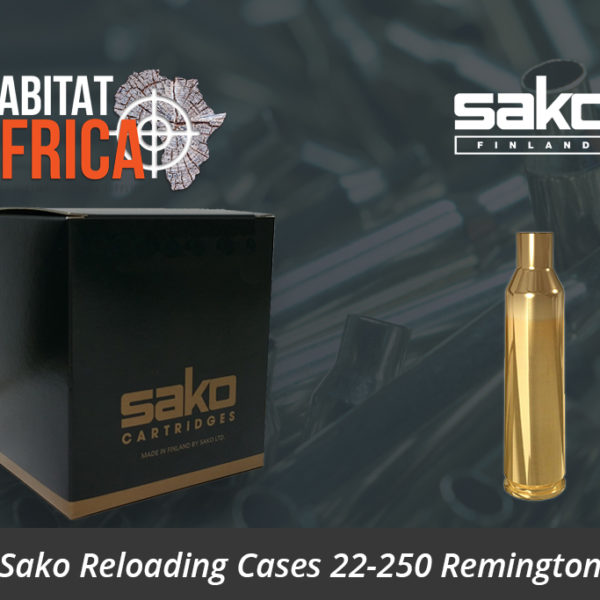 Sako Reloading Cases 22-250 Remington Reloading Brass