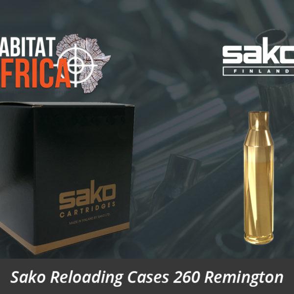 Sako Reloading Cases 260 Remington Sako Reloading Brass