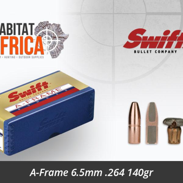 Swift A-Frame 6.5mm .264 140gr Bullet