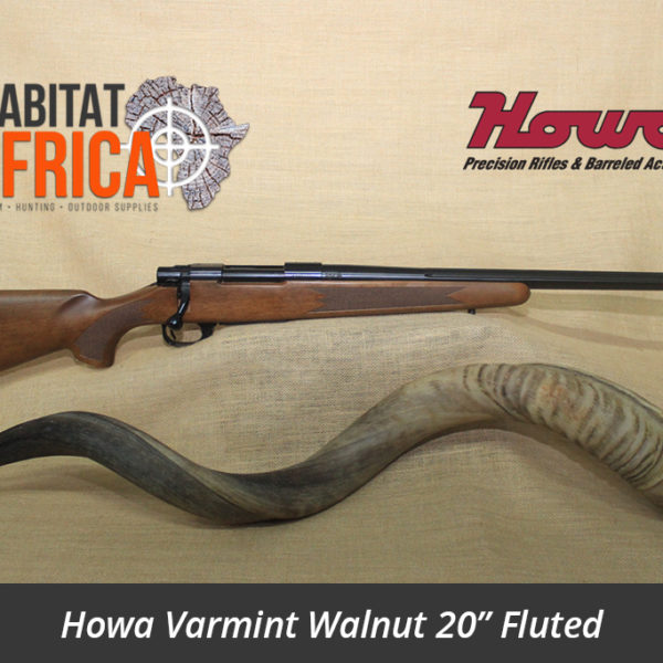 Howa Varmint Walnut 20 inch Fluted Hunting Rifle