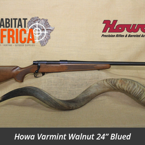 Howa Varmint Walnut 24 inch Blued Hunting Rifle