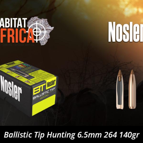 Nosler Ballistic Tip Hunting 6.5mm 264 140gr Bullets