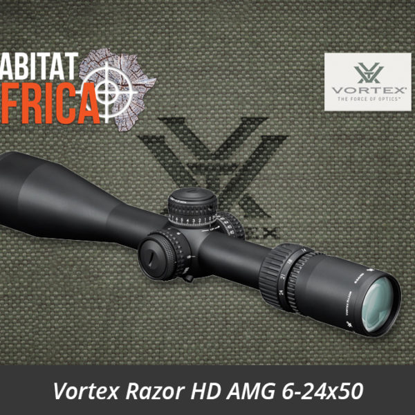 Vortex Razor HD AMG 6-24x50 Riflescope - Habitat Africa | Gun Shop | South Africa