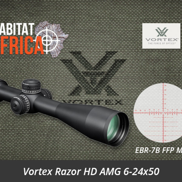 Vortex Razor HD AMG 6-24x50 Riflescope EBR-7B FFP MOA Reticle - Habitat Africa | Gun Shop | South Africa