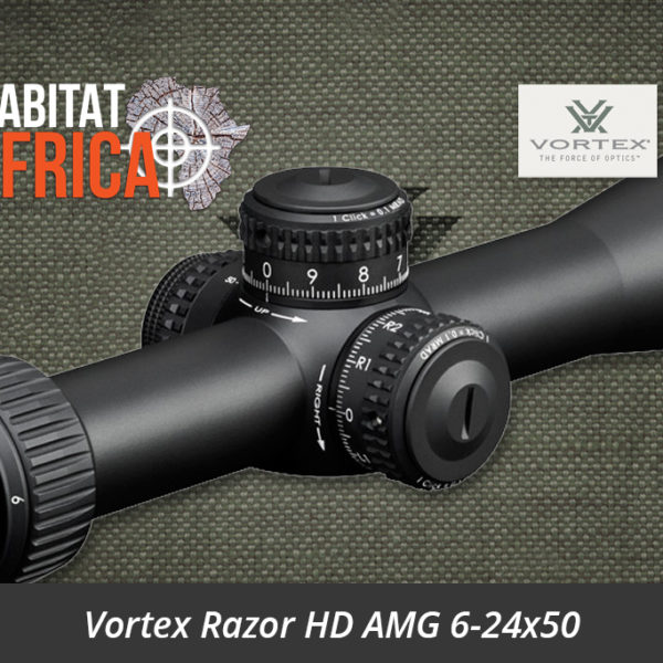 Vortex Razor HD AMG 6-24x50 Riflescope EBR-7B FFP MRAD Reticle Turrets - Habitat Africa | Gun Shop | South Africa