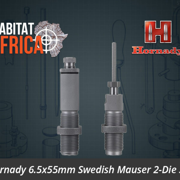 Hornady 6.5x55mm Swedish Mauser 2-Die Set