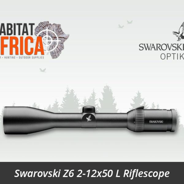 Swarovski Z6 2-12x50 L Riflescope - Habitat Africa   Gun Shop   South Africa