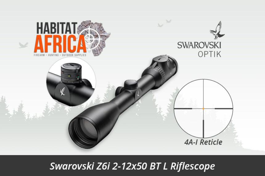 swarovski z6i 2 12x50 bt l riflescope 4a i reticle