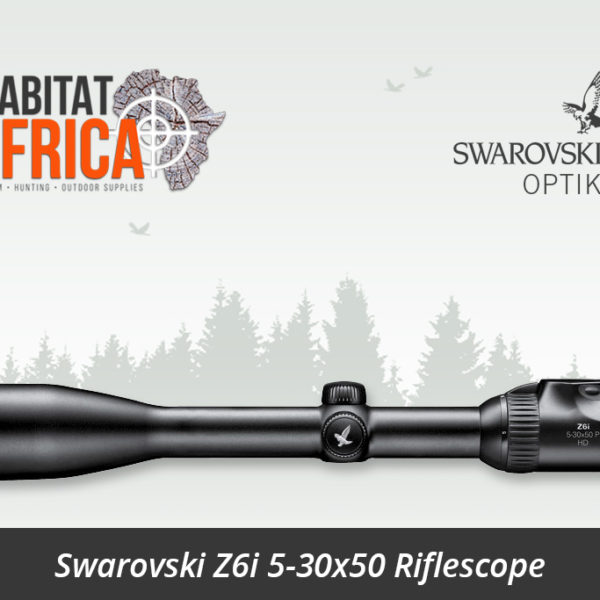 Swarovski Z6i 5-30x50 Riflescope Side View