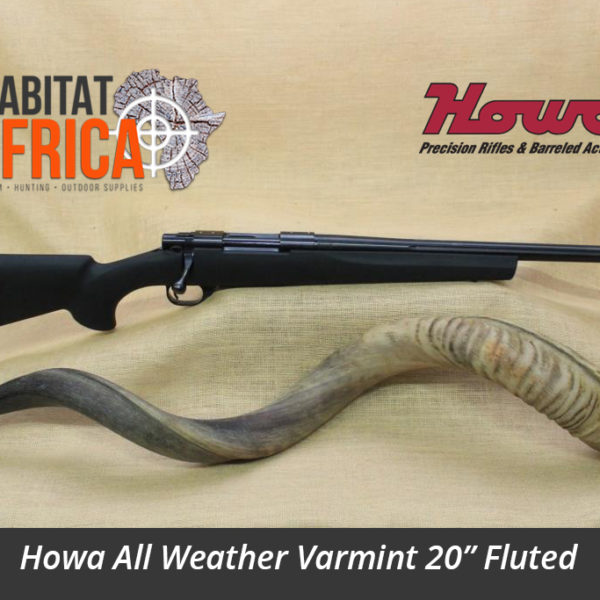 Howa All Weather Varmint 20 inch Fluted Hunting Rifle